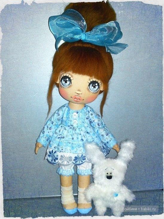 Как сделать текстильных кукол своими руками