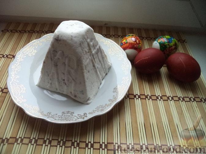 Творожная пасха рецепт без яиц пошагово