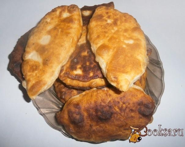 Рецепт жареных пирожков тонких