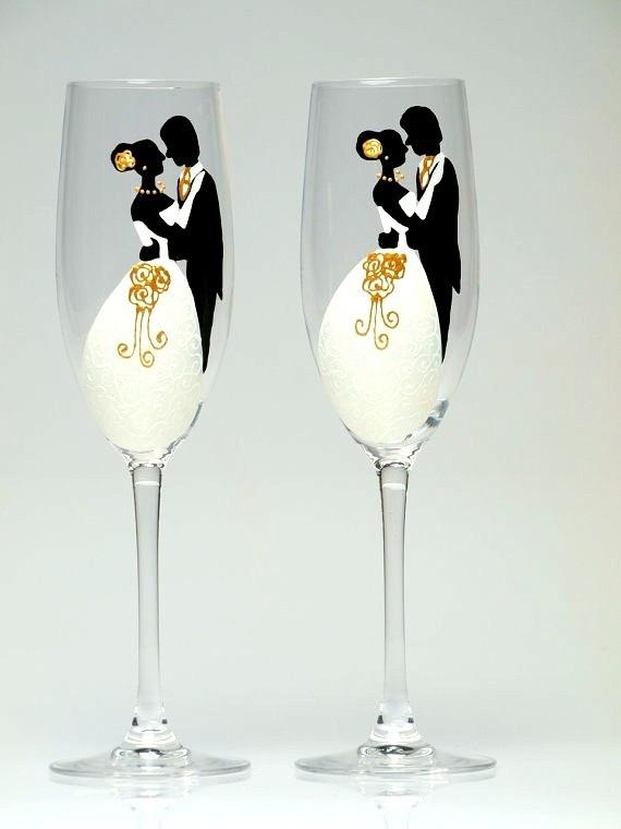 Картинки свадебные бокалы