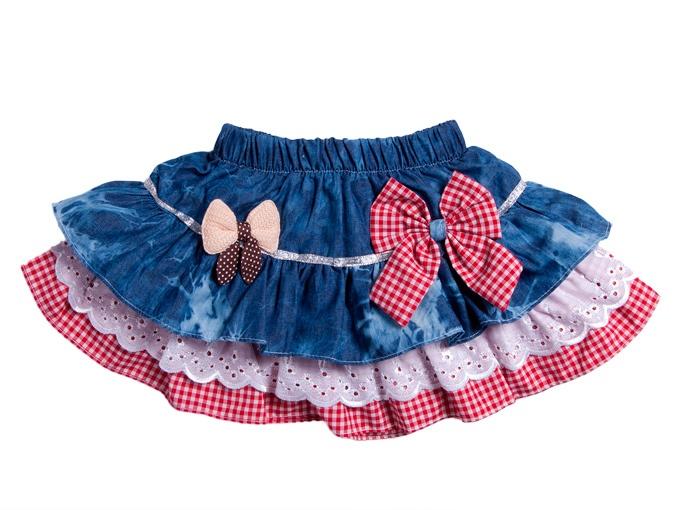 Сшить юбку из старых джинсов для девочки своими руками
