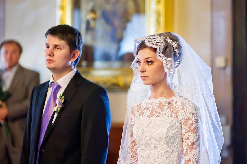 Фото платья для венчания в церкви спустя годы супружества