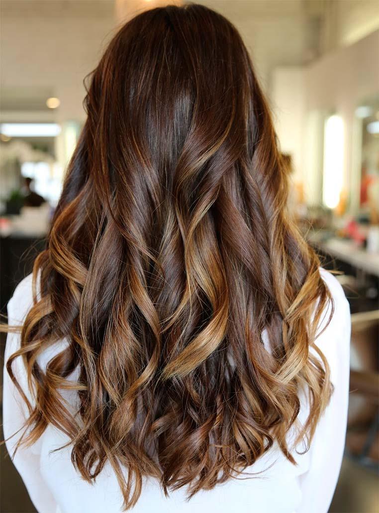 Колорирование на тёмные волосы как сделать