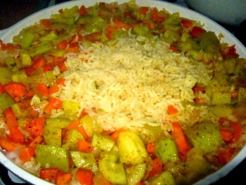 Рис с кабачком рецепт с фото пошагово в мультиварке