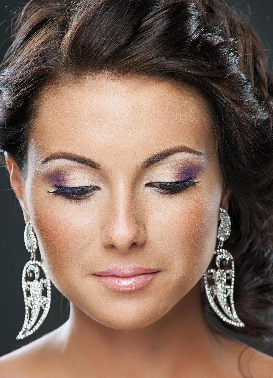 Макияж для карих глаз для невест