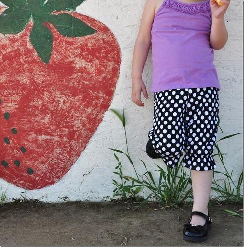 Шьем бриджи для девочки
