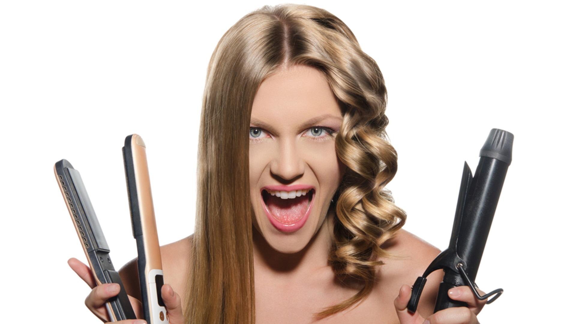 Уход за щипцами для волос