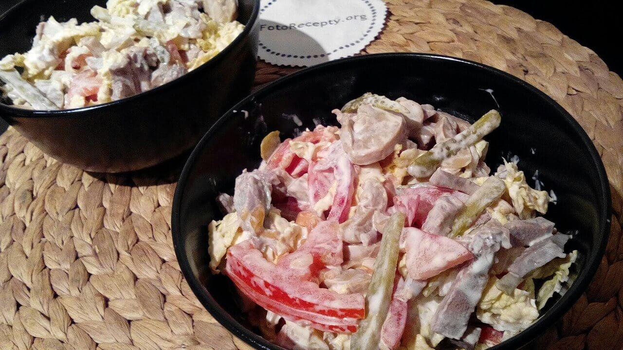 Рецепты салата из говяжьего языка с