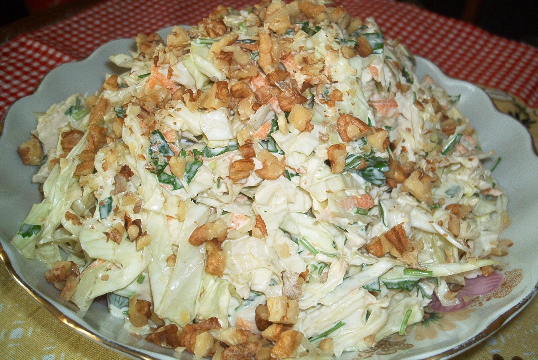 Овощные салаты с курицей рецепт с