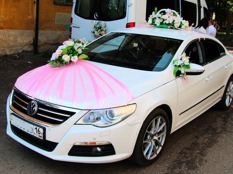Украшения на свадьбу на машины