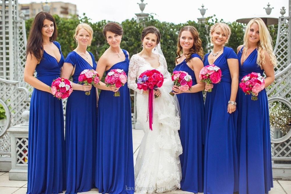 Платья подружек на свадьбе