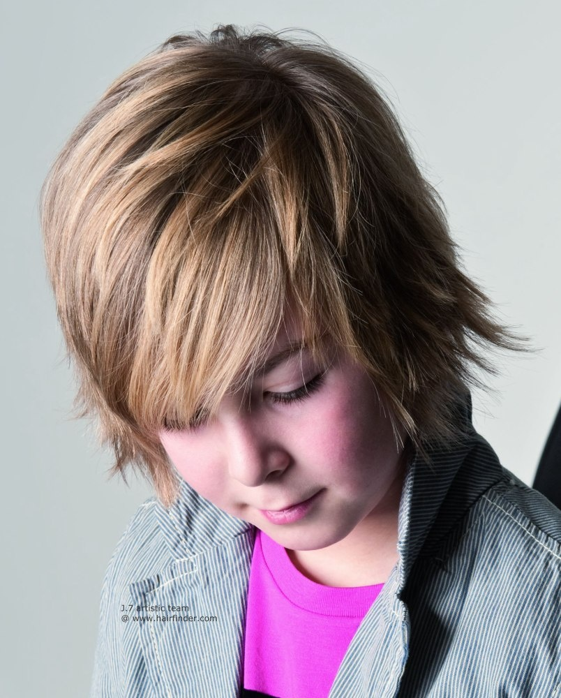 Фото причесок для мальчиков подростков удлиненные челки