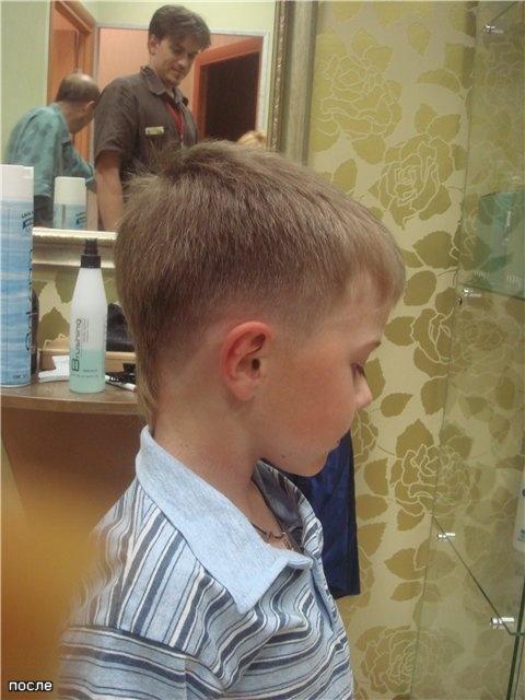Причёски для мальчиков в домашних условиях