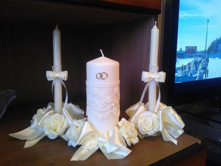 Свеча для домашнего очага своими руками