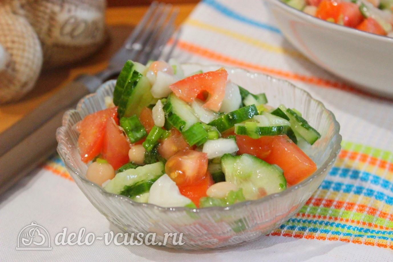 Легкие салаты рецепты с фасолью