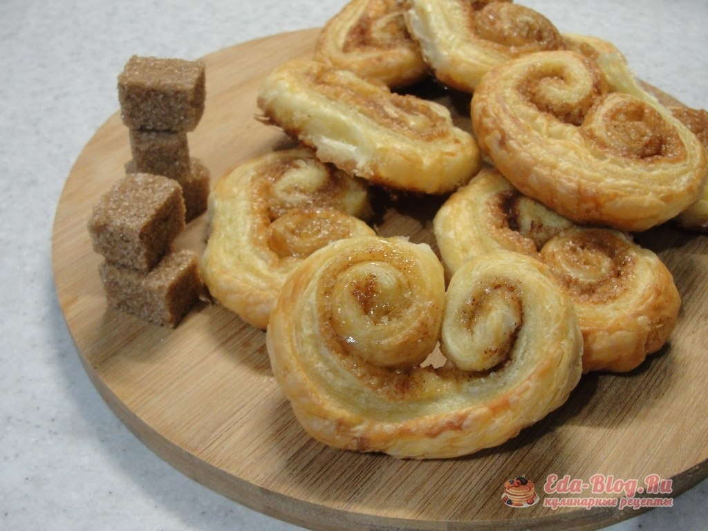 Слоеные печенье рецепт с пошагово