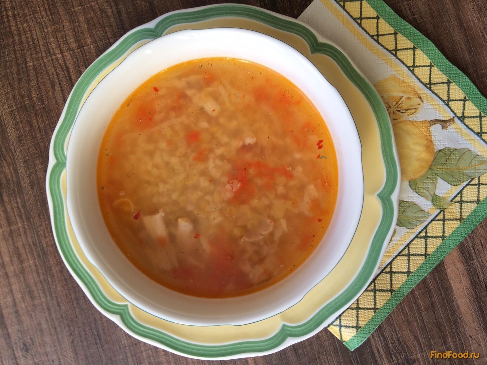 Рецепт турецкого супа с чечевицей и булгуром