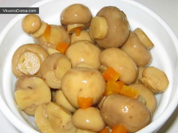Маринованные грибы своими руками