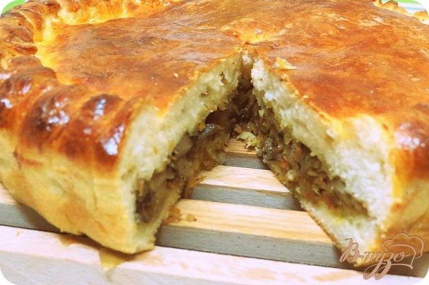 Пирог с в духовке рецепт с фото пошагово