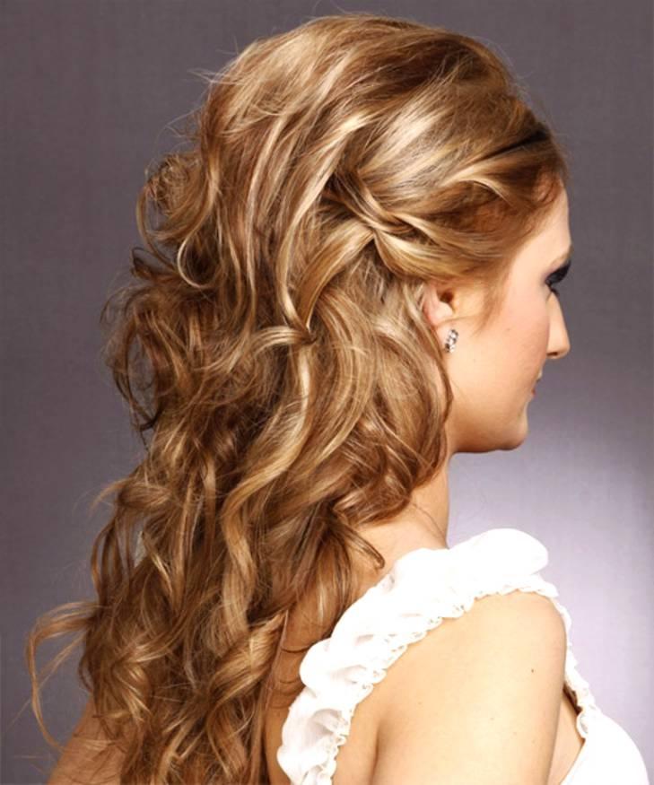 Фото причесок на длинные волосы начес