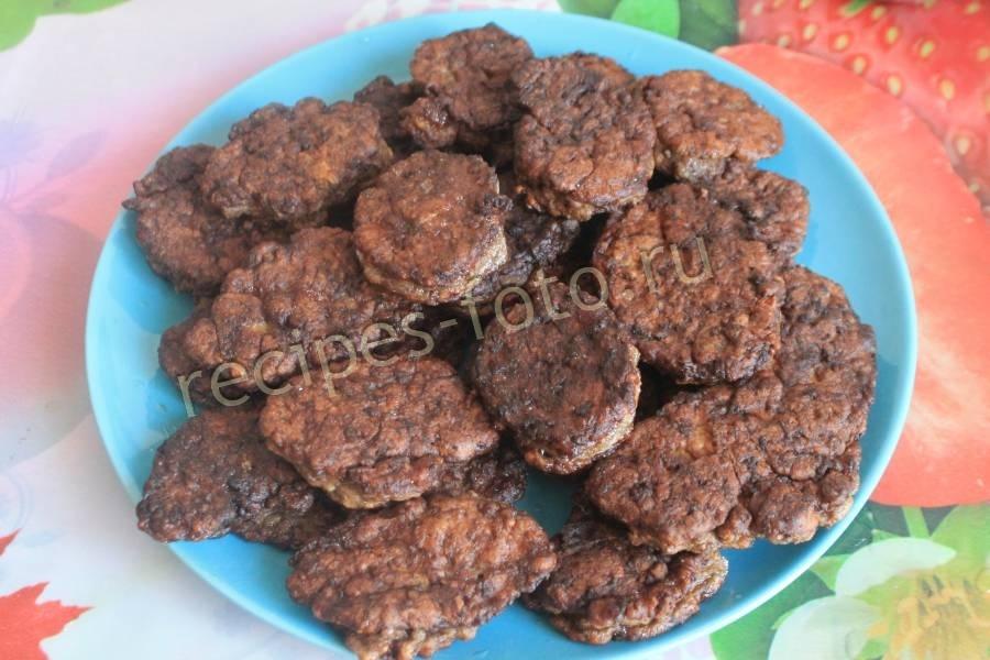Рецепт печеночных котлет из свиной печени пошагово