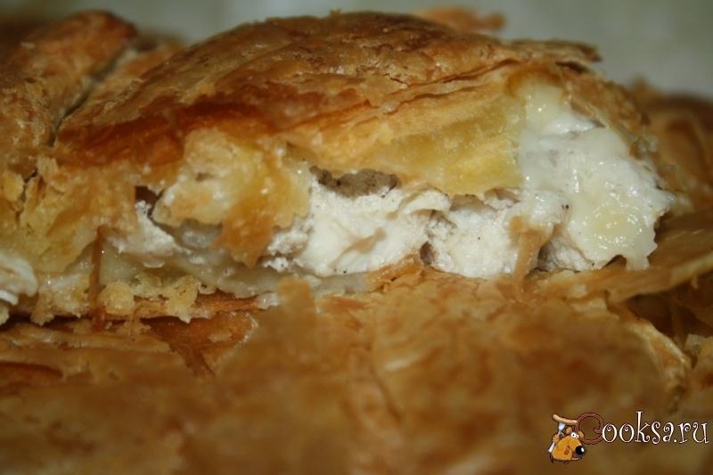 Куриный пирог рецепты с