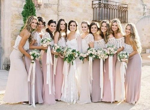 Платья для подружки невесты только с