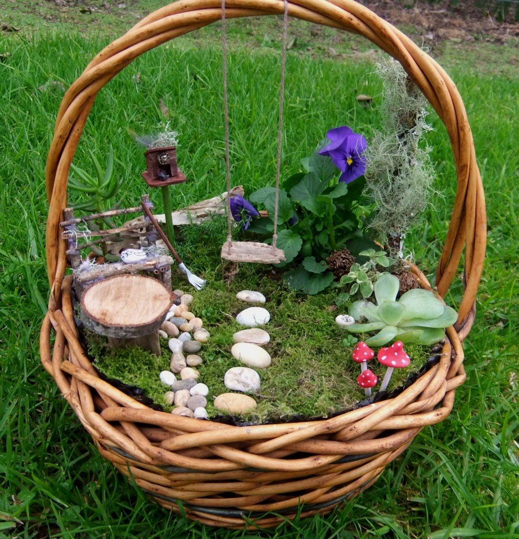 Все для сада декоративное кашпо своими руками