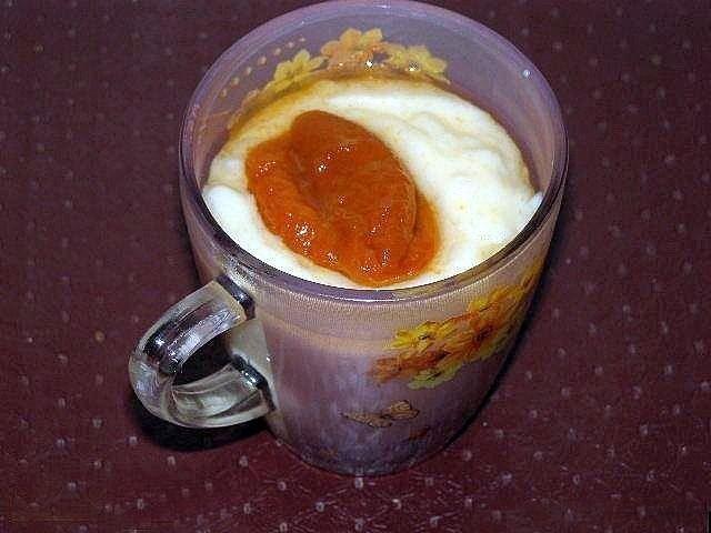 Молочный пудинг пошагово