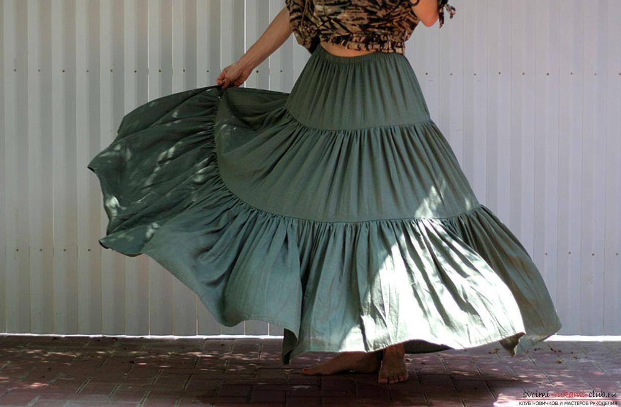Юбка своими руками платья