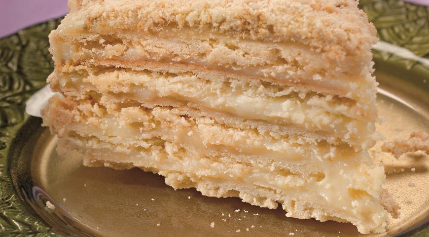 Коржи на торт наполеон рецепт с пошагово