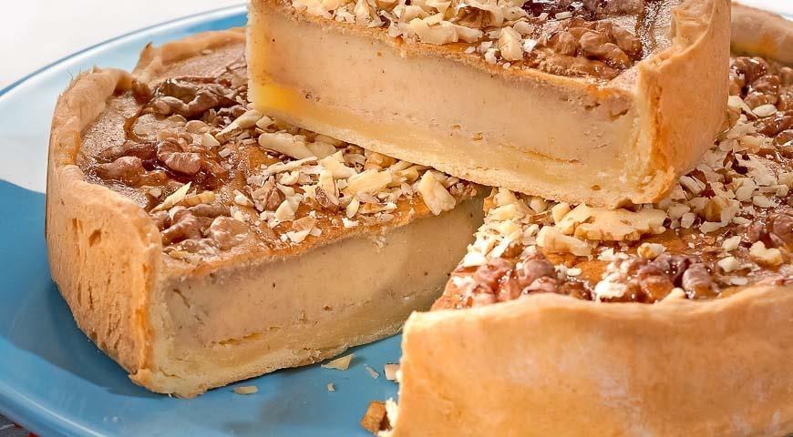 Пироги рецепты с грецким орехом