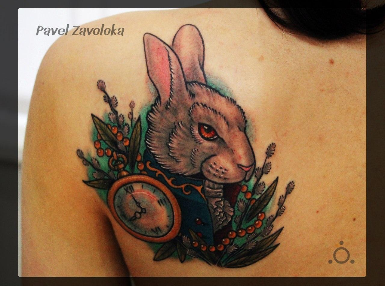 Фото тату кролика