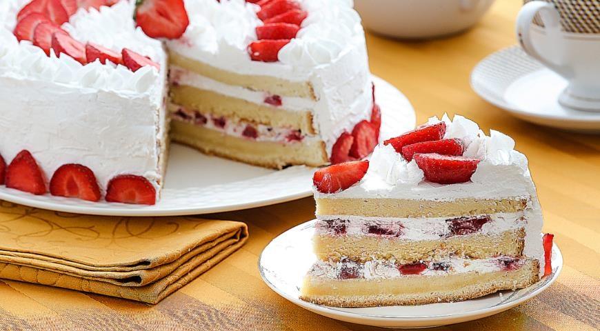 Крем для бисквитного торта в домашних условиях