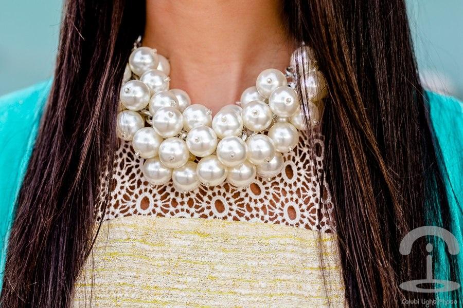 Жемчужное ожерелье своими руками фото