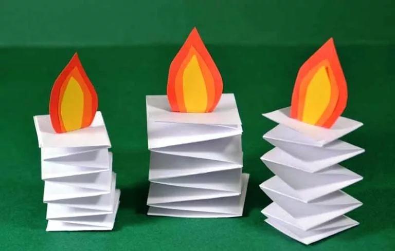 Поделки из бумаги для детей 5-6 лет из цветной бумаги