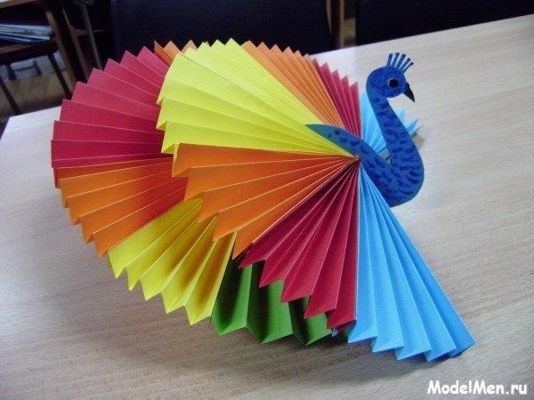 Мастер класс для детей из бумаги цветной