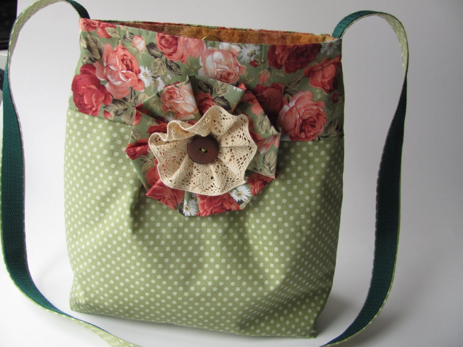 Маленькие сумочки из ткани своими руками