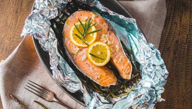 Как приготовить рыбу в духовке в фольге целиком рецепт пошаговый