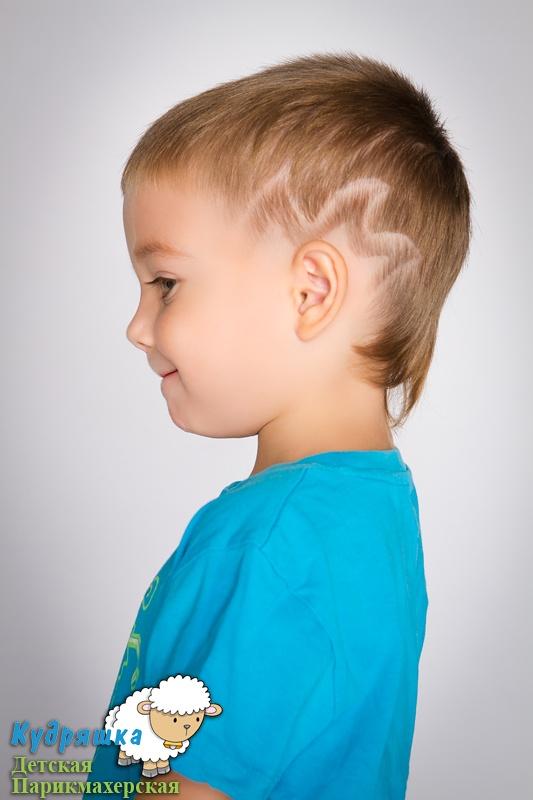 Фото прически для мальчиков 5-6 лет