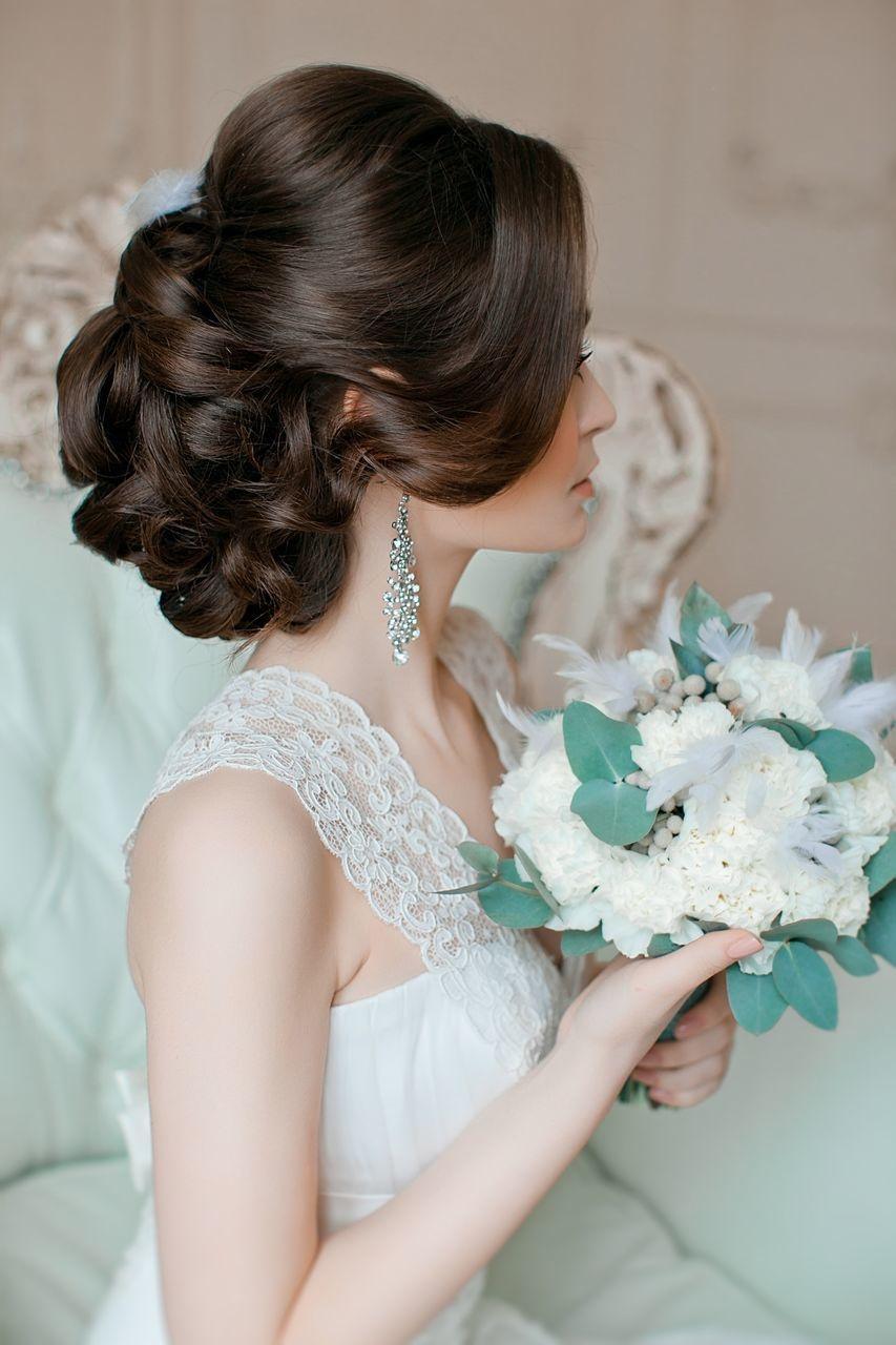 прически свадебные в psd