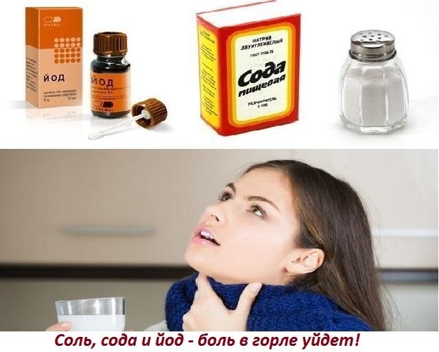 Флюс лечение в домашних условиях йодом солью и содой