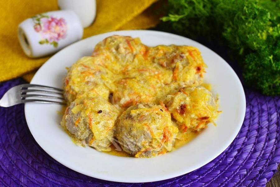 Тефтели в сметанном соусе пошаговый рецепт с фото