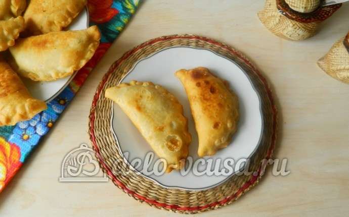 Рецепт чебуреков с начинкой