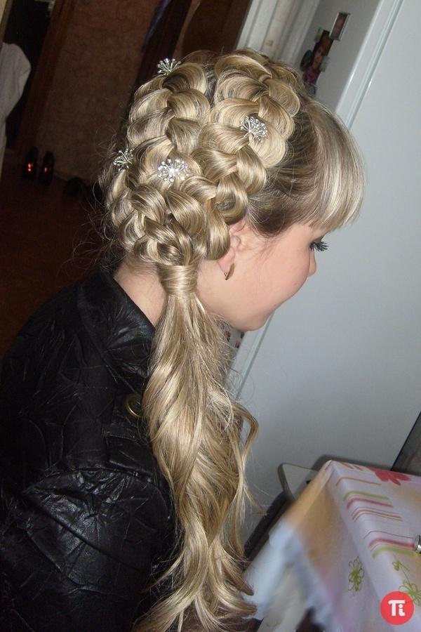 Прическа из кос на длинные волосы своими руками пошаговая инструкция