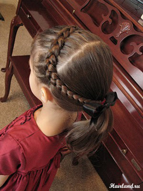 Прическа для девочки 10 лет на длинные фото