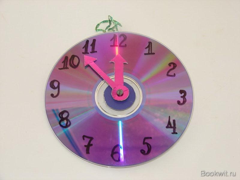 Как сделать часы из бумаги с движущемся стрелками