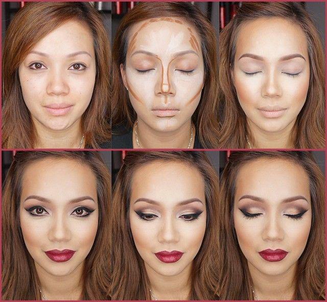 Как сделать лицо полным