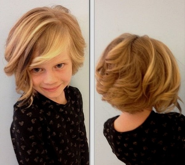 Модные стрижки для девочек с короткими волосами