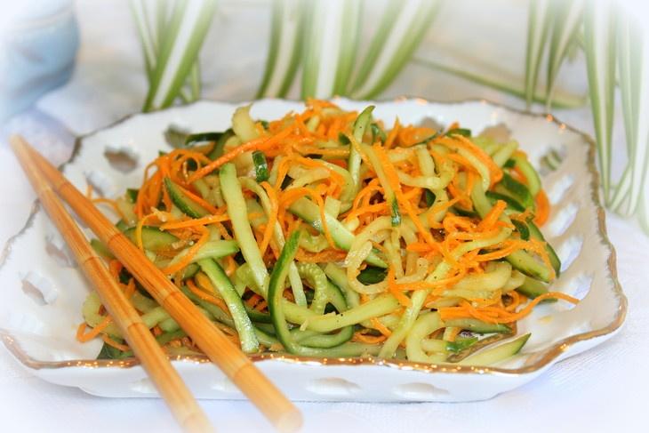 Салат по корейски рецепт с очень вкусный